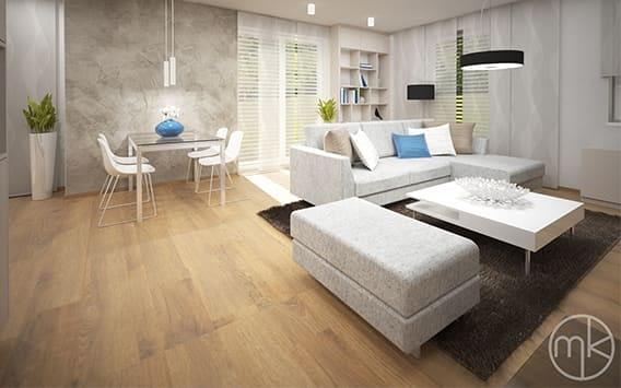 Moderní interiér rodinného domu